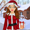 Cute Christmas Girl Dress Up
