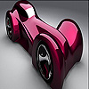 Fantastic concept car slide puzzle